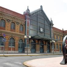 Edificio Estación de Ferrocarriles de Almería - Guía de ocio ALMERIA