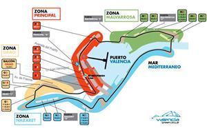 Circuito Urbano de Formula 1 - Guía de ocio VALENCIA